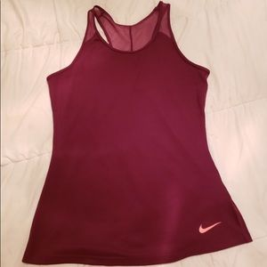 Nike Red and Pink work out tank size M